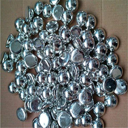 High Purity 500g Tin Metal Shot 99.99% Pure Element Tin Nugget Tin Hemisphere by LEIKUO