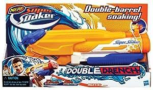 Super Soaker Lanzador de agua Double Drench (Hasbro A4840e35)