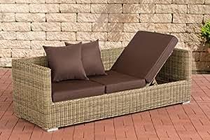 Lounge de sofá Solano–5mm Terra marrón Natura