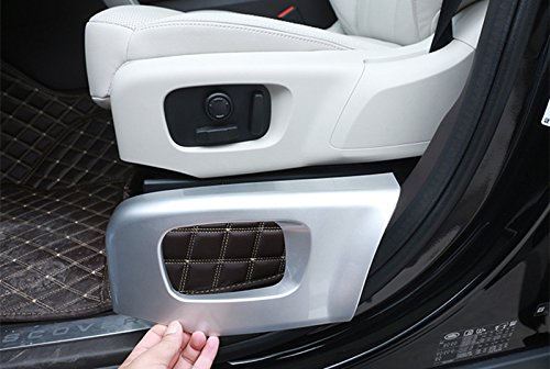 HOTRIMWORLD Interior Car Seat Button Frame Trim Cover for Land Rover Range Rover Velar 2017-2019 by HOTRIMWORLD (Image #7)