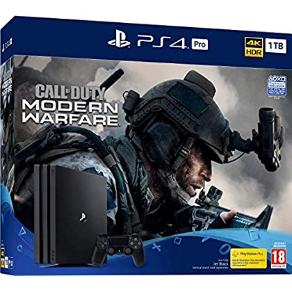 Image of Call Of Duty: Modern Warfare PS4 Pro Bundle (PS4) Games