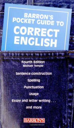 Pocket Guide to Correct English (Barron's Pocket Guides)