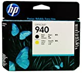 HP OEM C4900A (940) Black and Yellow Printhead in foil packaging, Office Central