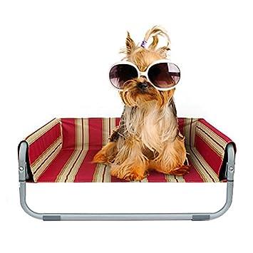 Petacc Plegable de Verano Cama para Mascotas Perro a prueba de humedad Camas de Playa Lavable