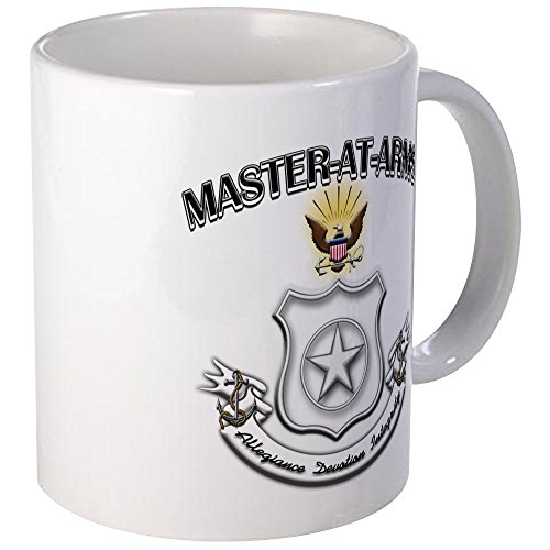 Arms Master Navy (CafePress - US Navy Master At Arms Mug - Unique Coffee Mug, Coffee Cup)