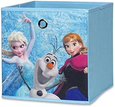 2018 Disney Caja de diseño B Frozen, caja plegable, cesta bandeja ...