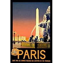 Best Vintage Travel paris Art Deco Poster 36 inch x 24 inch / 20 inch x 13 inch