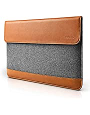 tomtoc Sleeve Case Felt & PU Leather Laptop Protective Bag for 13 13.3 15 inch Laptop