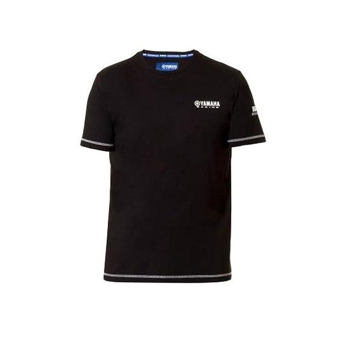 Yamaha - Camiseta - para Hombre Negro X-Small