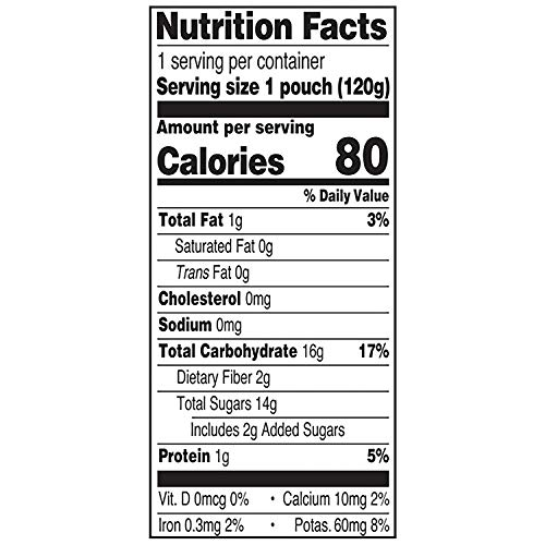 51g5Vb0RYrL - Earth's Best Organic Stage 2 Baby Food, Apple Peach And Oatmeal, 4.2 Oz. Pouch (Pack Of 12)