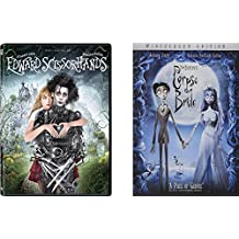 Corpse Bride & Edward Scissorhands Tim Burton 2-DVD Bundle