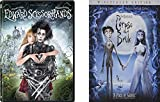 Corpse Bride & Edward Scissorhands Tim Burton 2-DVD Bundle