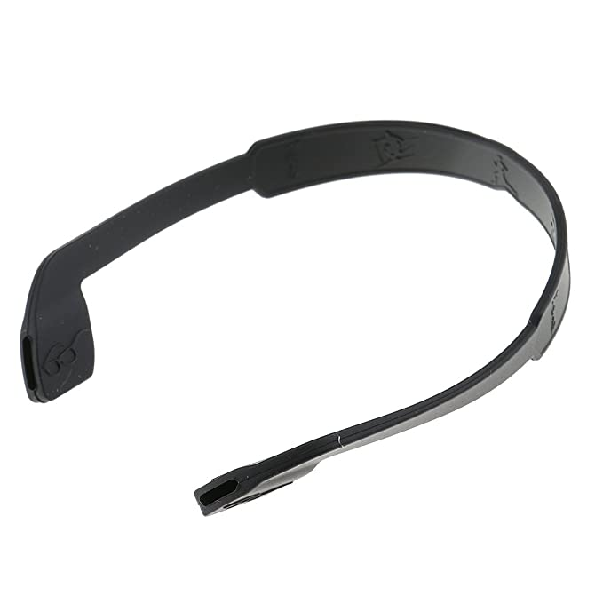 fba0e0d83d7 Generic Unisex-Adult Silicone Eyeglasses Strap Silicon Glasses Sunglasses  Sports Band Cord Holder Black  Amazon.in  Clothing   Accessories