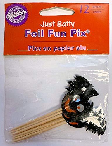 Just Batty Halloween Foil Fun Pix 12 ct.