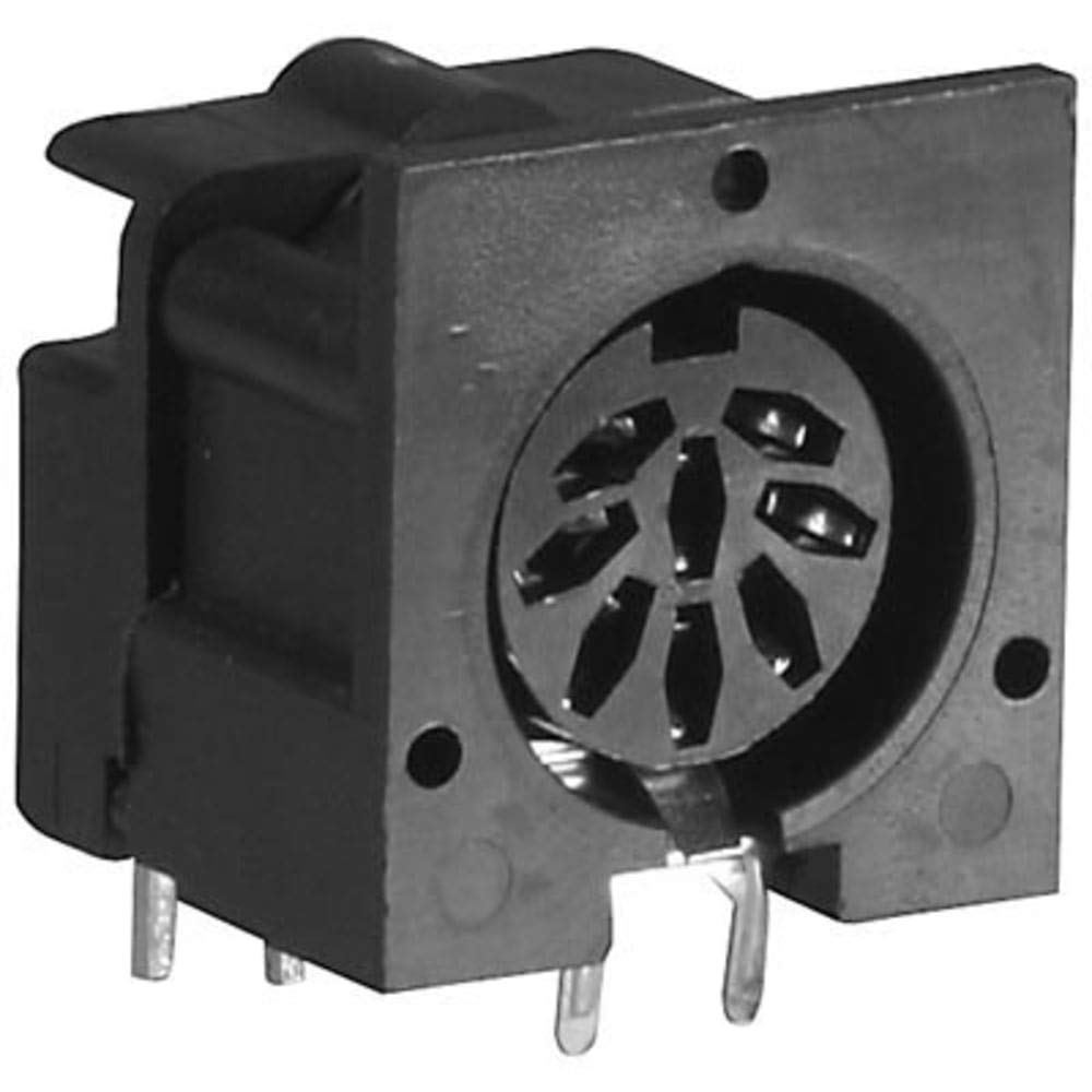 DIN Receptacle; Receptacle; 8; Female; PCB Mount, Pack of 10