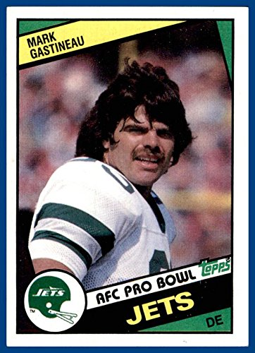 1984 Topps #146 Mark Gastineau NEW YORK JETS EAST CENTRAL (ex-mt)