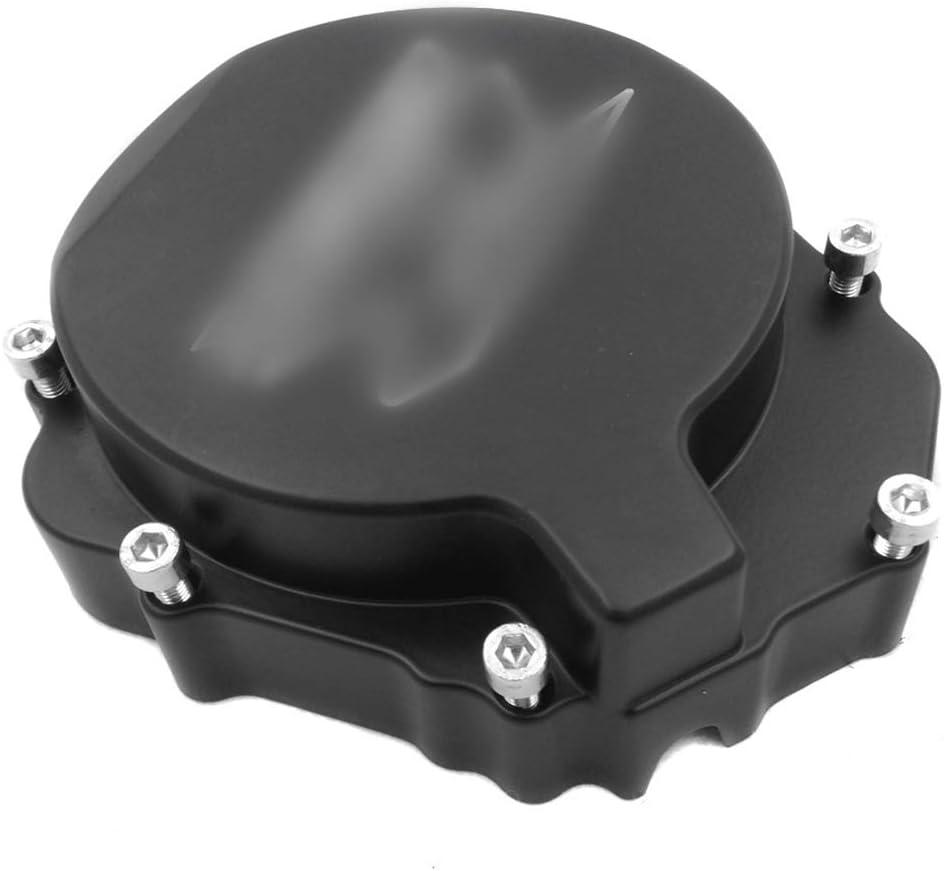 Billet Aluminum Engine Stator Cover Custom MadeGSXR Logo For Compatible with 2004-2005 Suzuki GSXR 600 750//2003-2004 Suzuki GSXR1000 Black Left NBX