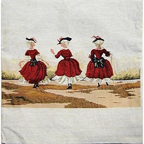 Funda de cojín Retro Vintage 3 toldos 45 x 45: Amazon.es: Hogar