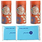 Facial Tissue For Auto - Global Cham Soft Paper Car Tissues with Peppermint Essential Oil, Refreshing Relieve Headaches Designed Facial Tissue for Household Office & Auto Disposable Paper Towels(Reusable Can Included)