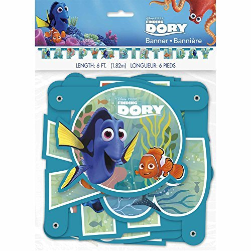 Finding Dory Party Banner -