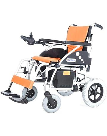 Dapang Silla de Ruedas eléctrica Plegable, Ligera e Inteligente, Silla eléctrica compacta, sillas