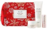 Fresh Skincare Icons Gift Set (Sugar Rose, Lotus Cream, Soy Cleanser)