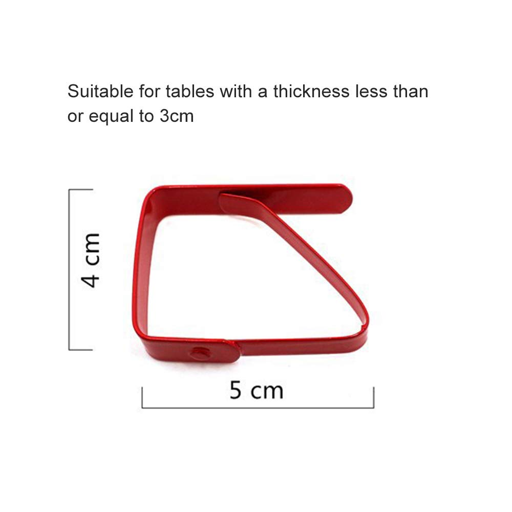Green, Yellow Kitchen-dream 8Pcs Colorful Tablecloth Clips Picnic Table Clips Flexible Stainless Steel Table Cloth Cover Clamps Table Cloth Holders Ideal for Picnics Weddings and Kitchen