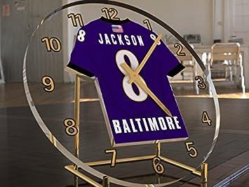 Liga Nacional de fútbol americano NFL AFC norteamericanos Relojes de escritorio - Camiseta de fútbol Relojes