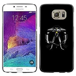 """For Samsung Galaxy S6 , S-type Robot Gran Mech Pacífico"""" - Arte & diseño plástico duro Fundas Cover Cubre Hard Case Cover"""