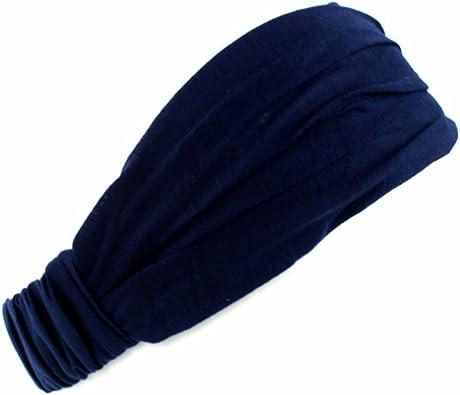 Jiamins Modo 3 en 1 mujer algodón elasticidad pelo banda cinta ...