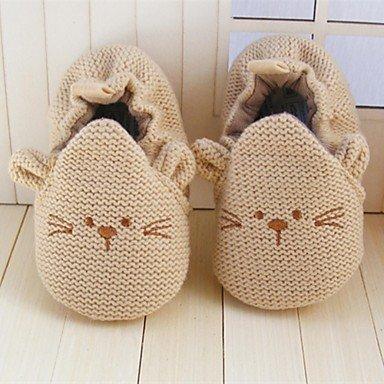 TYHQ Zapatos de bebé Al aire libre/Vestido/Informal Tejido Mocasines Caqui , Khaki , US3 / EU18 / UK2 Toddle: Amazon.es: Deportes y aire libre