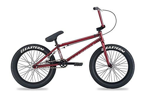 "Eastern Bikes Natural BMX Bike, Trans Red, 20"""