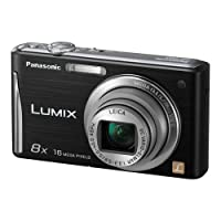 "Panasonic Lumix DMC-FH27 16MP 8x Zoom Digital Camera with 3.0"" Touchscreen (Black)"