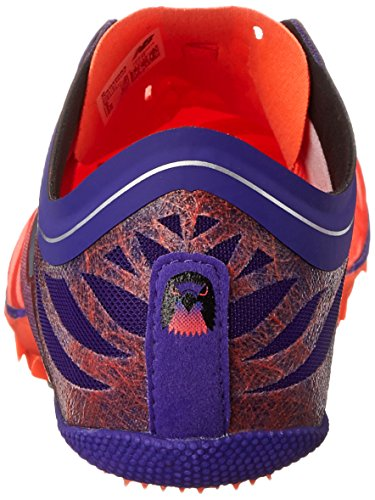 New Balance Women's SD400V3 Track Spike, Orange/Purple, 12 B US