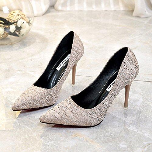 Flut Mund Licht alti yalanshop Fashion Schuhe Frauen Tacchi Spitze 35 Rosa EqFHHA