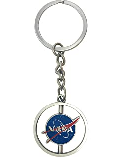 Amazon.com: NASA Keychain NASA Alloy Pendant 1PCS: Office ...