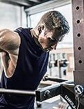 COOFANDY Men's Workout Hooded Tank Tops