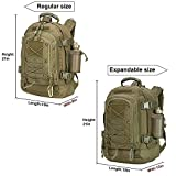 ARMYCAMOUSA 40L Outdoor Expandable Tactical