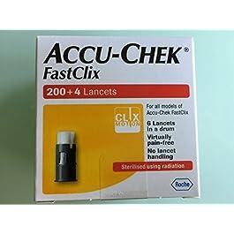 Accu Check Fastclix 200+4 Lancets