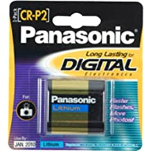 Panasonic Genuine CR-P2 Photo Lithium Battery Retail Pack - Single