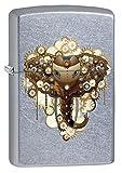 Zippo Lighter: Steampunk Elephant - Street Chrome 77466