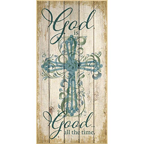 (Dexsa God is Good All The Time…Wood Plaque)