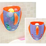 Pinterest Bathtubs Kids Bath Tub Toys Storage Bin Super Scoop Bath Toy Organizer (blue)