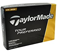 TaylorMade Tour Preferred Golf Balls, Prior Generation (One Dozen)