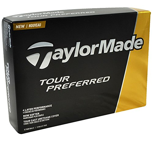 TaylorMade 2016 Tour Preferred Golf Balls #1-#four 12-Ball Pack – DiZiSports Store