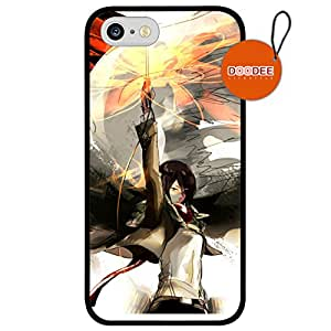 Attack on Titan Anime iPhone 5 / 5s Case & Cover Design Fashion Trend Cool Case Back Cover Silicone 50