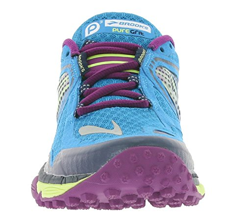Brooks Puregrit 3 Women's Zapatillas Para Correr - türkis/lila