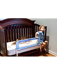 Dream On Me Mesh Security Crib Rail, Blue BOBEBE Online Baby Store From New York to Miami and Los Angeles