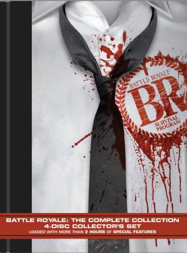 DVD : Battle Royale: The Complete Collection (DVD)