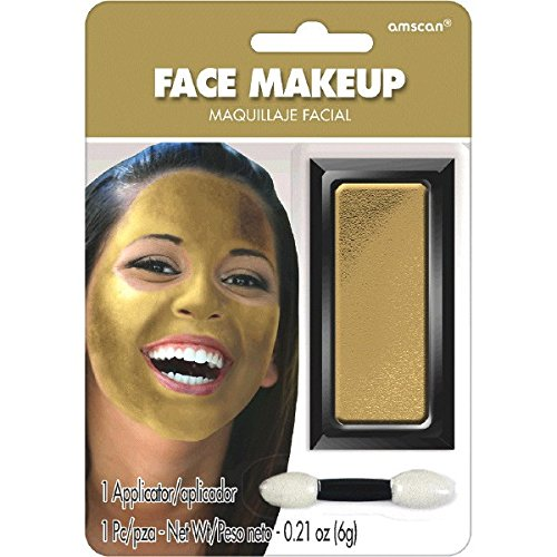 Face Theme Paint (Amscan Gold Face Makeup)